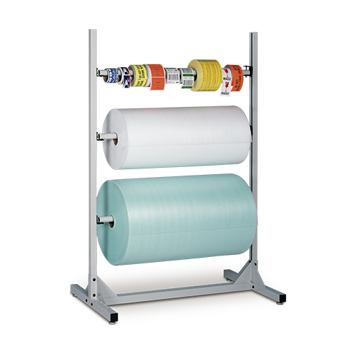 iac industrial packaging roll storage stand
