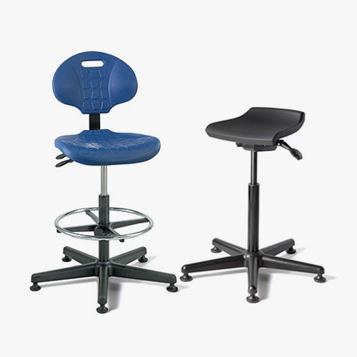 bevco ergonomic industrial chairs and stools