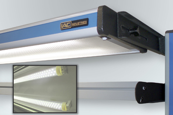 adjustable lighting fixtures. BREA, CA: IAC Industries, Manufacturers Of Precision Workstations And Workbenches Worldwide, Has Introduced A New Series LED Lighting Fixtures For Their Adjustable